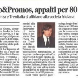 Euro&Promos;, appalti per 80 mln