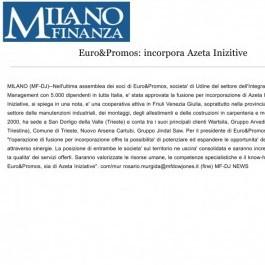Euro&Promos;: incorpora Azeta Inizitive
