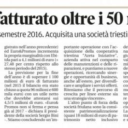 Euro&Promos;, fatturato oltre i 50 milioni